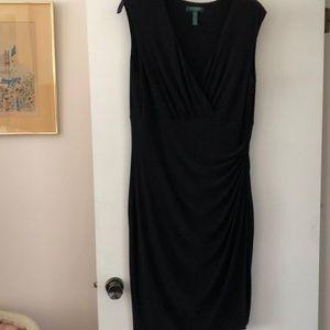 Ralph Lauren little black dress size 16W